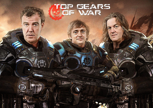 gamefreaksnz:  Top Gears of War  (Imgur)   I would totally play this.