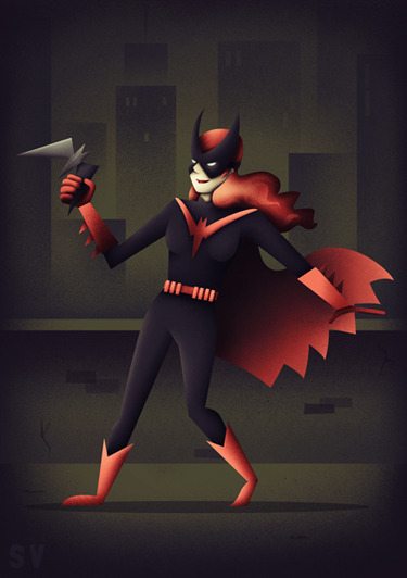 This weeks Batman character is Batwoman - check out more here!