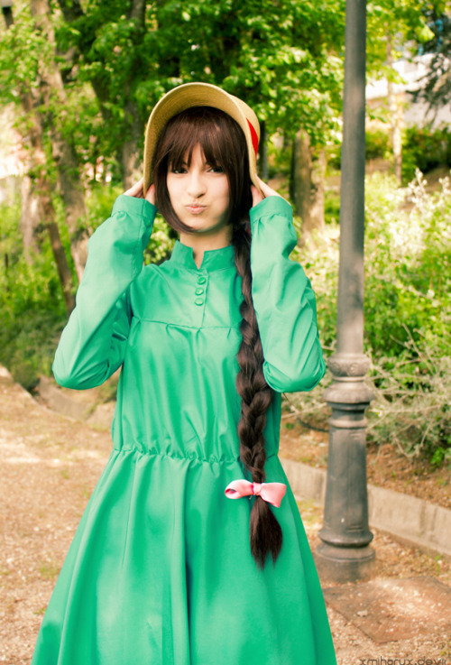 Howl´s moving castle - Shopie Hatter (via I'm not pretty - Sophie Hatter by =XmiharuX on deviantART)