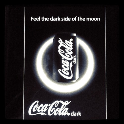 #cocacola #dark #side #moon #poster #design #illustrator  (Tomada con instagram)