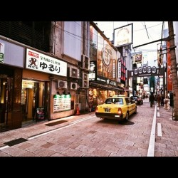 Osaka, namba district #japan #osaka #namba #street #wideangle (Taken with instagram)