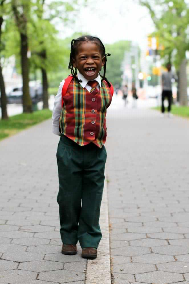 humansofnewyork:  For one fleeting moment, this kid may have been the happiest person in the world.