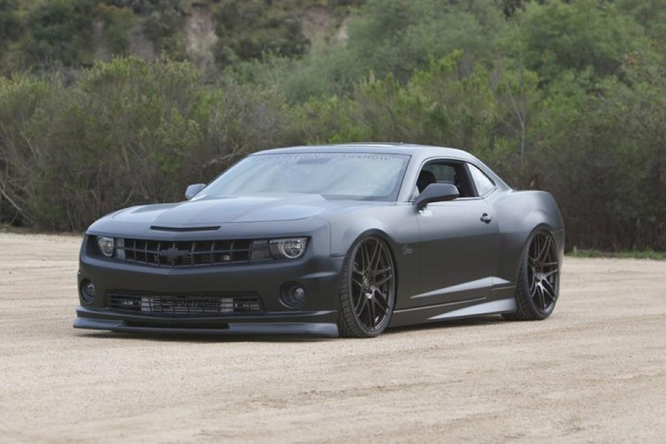 europeancarlove:  The new Camaros are just hateful. This car is still hateful…just less so