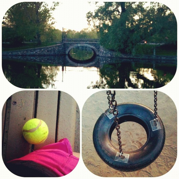 Round shapes in the park. #play (Taken with instagram)