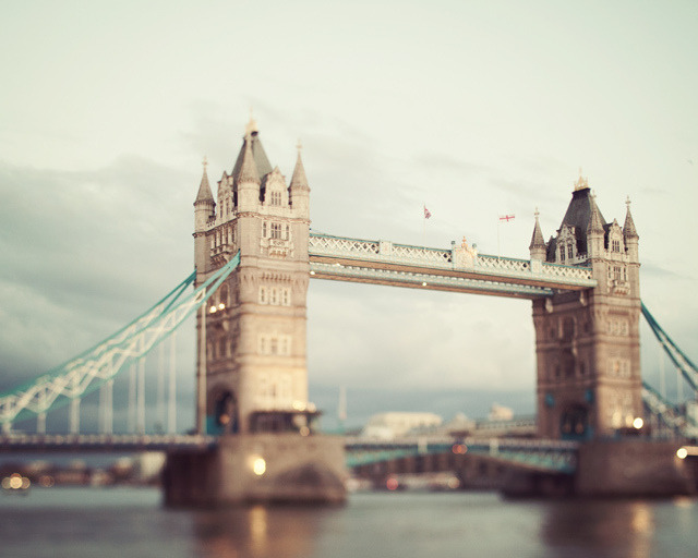 | ♕ |  The Tower Bridge - London  | by © Irene Suchocki  via ysvoice : alpha-centauri