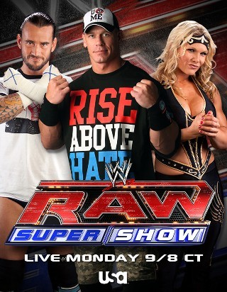 I am watching WWE Raw                                                  2727 others are also watching                       WWE Raw on GetGlue.com