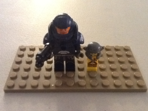 "Lego Space Marine's ""Bring Your Child to Work"" Day."