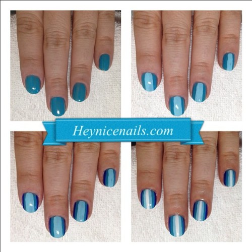 heynicenails:  Single finger ombré mani #nailart (Taken with Instagram at Casa de los Geers )