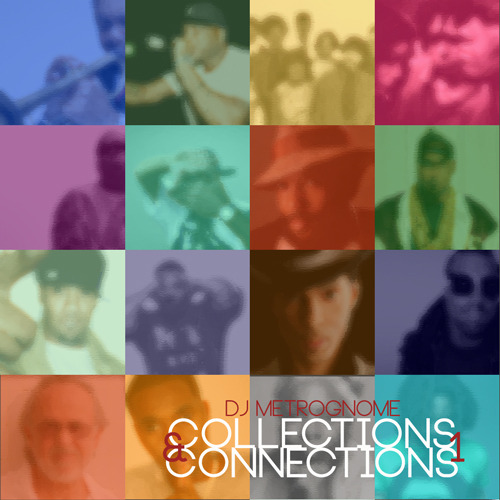 "I recently completed my latest mix, ""Collections & Connections, vol. 1""… it's a concept mix based entirely  on song-to-song relationships (might be a sample, might be wordplay, etc, etc). Feel free to download or pass the link along to anyone of interest. www.tinyurl.com/MetroGnomeCCv1 By the way, the cover shows the majority of acts that are on the mix. Curious how many people you all can identify before opening up the file?"