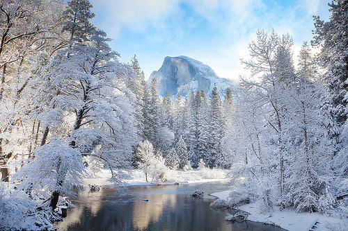 Yosemite In Winter (by kevin mcneal)