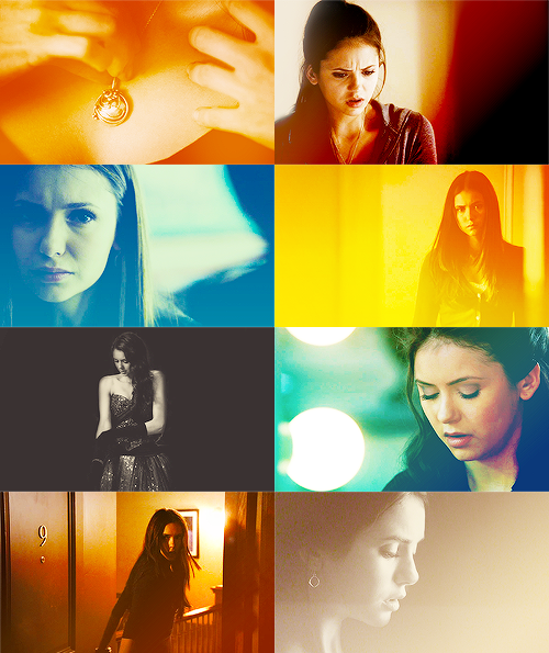 "accidentaltheme:  THE VERY LONG LIST OF AWESOME LADIES ON TV: Elena Gilbert [The Vampire Diaries]  Dear Diary, Today will be different. It has to be. I will smile and it will be believable. A smile that will say ""I am fine, thank you… Yes, I feel much better."" I will no longer be the sad little girl who lost her parents. I will start fresh, be someone new. It's the only way I can make it through."