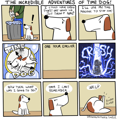 Time Dog, master of time!