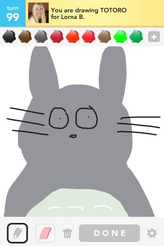 My Totoro drawing