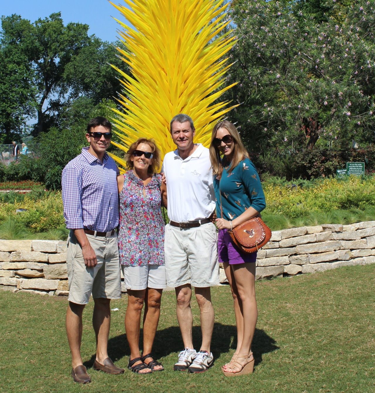 blessed to have this family.  Mother's Day 2012 - Dallas Arboretum