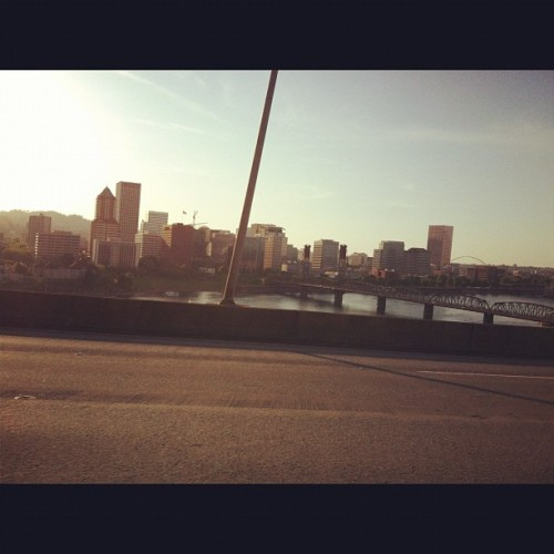 Goodbye Portland. See you soon! #home #portland #oregon  (Taken with instagram)