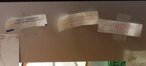 My personal fortune cookie hall of fame.