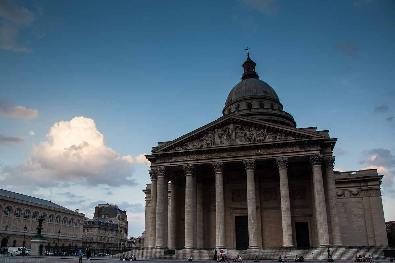 Paris 03 - Pantheon  by Ricardo Mavigno