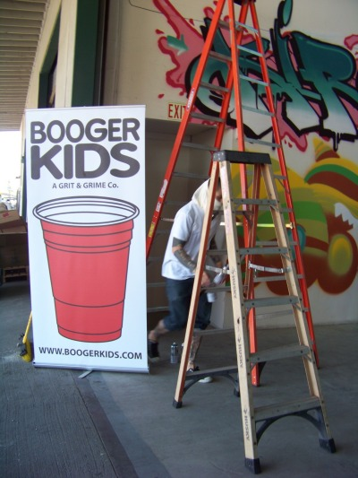 Booger Kids Grand Opening The Warehouse.. 4.12.12 I'm luv'n the Booger Kids Crew! Their humble and friendly… Mad love to the whole staff! 2bittersweet will support them to the fullest.. :) www.boogerkids.com