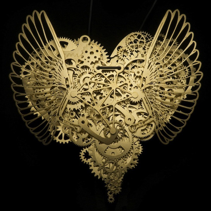 gaksdesigns:  Intricate paper sculptures by Frank Tjepkema. via