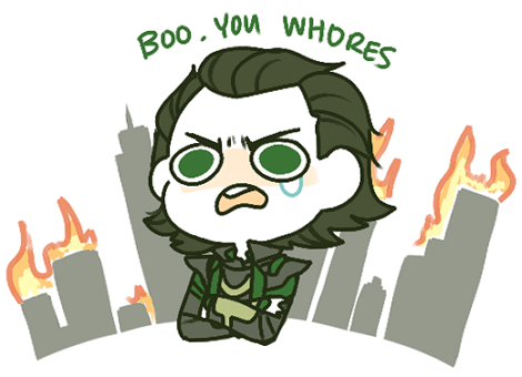 deshington:  philophile:  loki stop throwing a tantrum and go to your room, young man  Never not reblog
