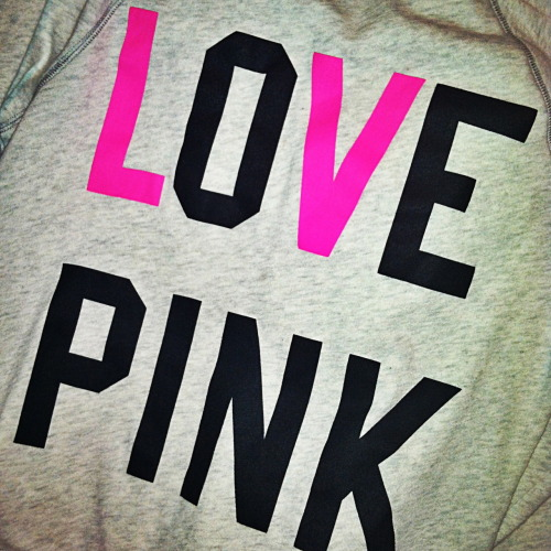 You have no idea how much I love Victoria's Secret Pink hoodies.