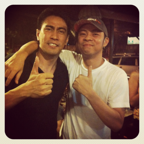 ramonbautista:  Chito Miranda!   my two fave people of all time..<3