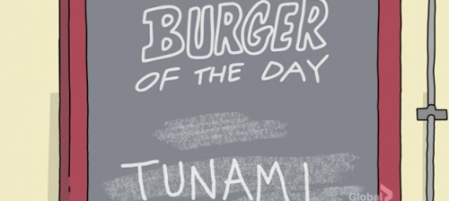 "Tunami  from Bob's Burgers Season 1 - Episode 2 : ""Crawl Space"""