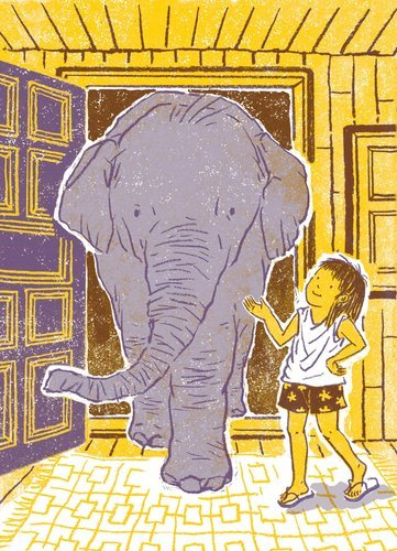 "effyeahelephants:  'Tua and the Elephant' by R.P. Harris ""This gentle approach makes for a wonderful and entirely age-­appropriate introduction to both the plight of the Asian elephant and the good kind of mahout, set against a backdrop of pure adventure."" - Sara Gruen, book review for nytimes.com"