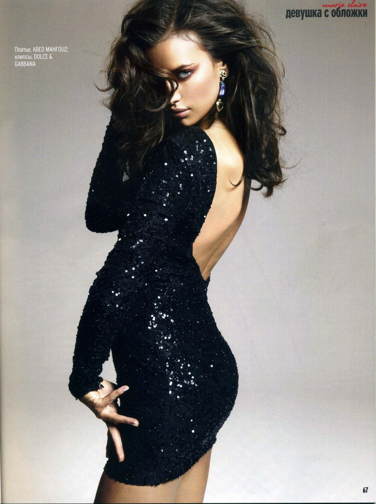 allthingselegant:  Irina Shayk for Marie Claire Ukraine, May 2012