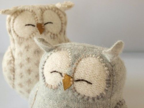 Cute plush owls :)