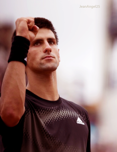 Novak Djokovic  One Hundred Photos 1-100 A friend told me to join the challenge.. so here we go..