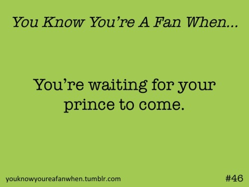 Someday my prince will come… I was totally singing that in my head while writing it….