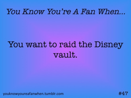 STORM THE VAULT! TAKE ALL THE DVDS! AND WHATEVER ELSE THEY STORE IN THERE!