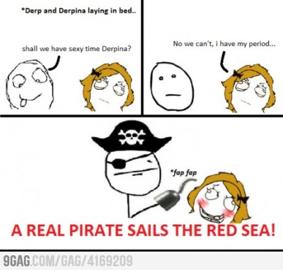 9gag:  A real pirate!