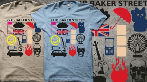 Please vote for my Sherlock Favourite Moments design on Qwertee if you want to see it printed. Can we get it to 1000 votes? Thanks! Vote for Sherlock Favourite Moments here
