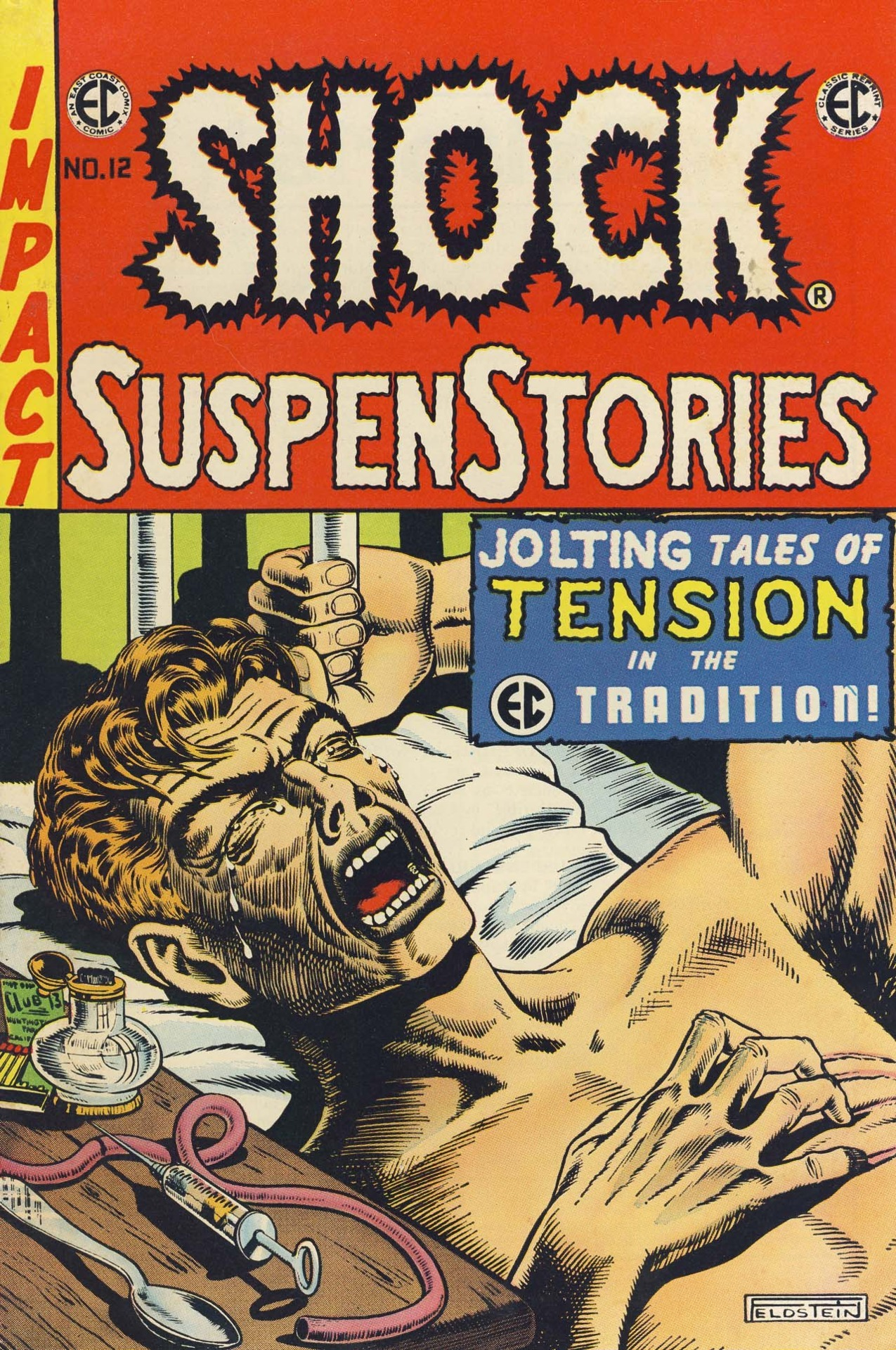 comicbookcovers:  Shock SupenStories #12, January 1954, cover by Albert B. Feldstein