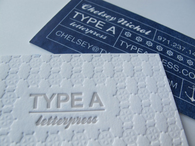 visualgraphic:  Type A Press Business