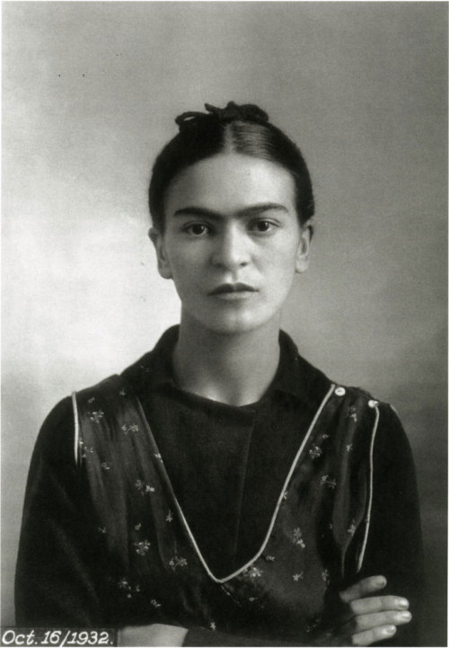 """I was born a bitch. I was born a painter."" -frida kahlo."