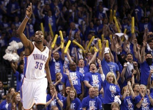 nbaoffseason:  Thunder Struck.  (AP Photo/Sue Ogrocki)