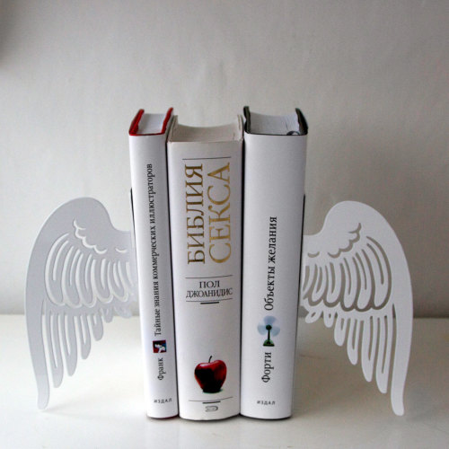 Angel Wing Bookends by DesignAtelierArticle