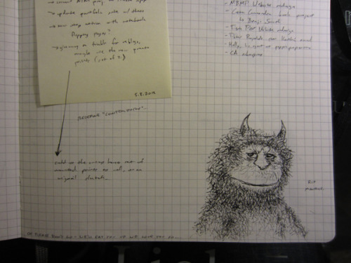 moleskinelovers:  doodles & notes. see my illustration blog here: http://debbiefong.tumblr.com :)