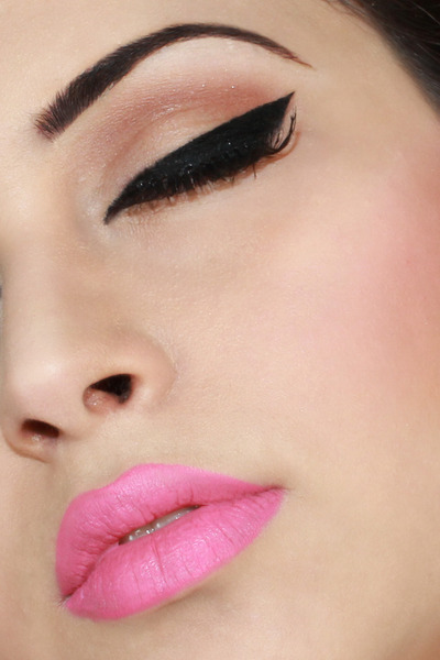 beautylish:  We love Manar S.'s pop of pink! Don't you?