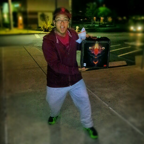 We got a fucking cube!!!! #diablo3 #blizzard (Taken with instagram)