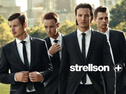 Michael Gandolfi, Adrian Wlodarski, James Neate and George Alan for Strellson SS10 BAHH my 1000th post! So I'm celebrating this with the image I used as my very first post! Yay! though probably no one really caresStrellson will never get old though.