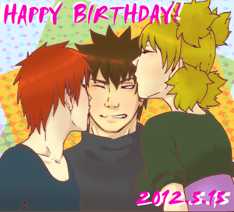 mantha-apples:  Happy Birthday Kankuro!