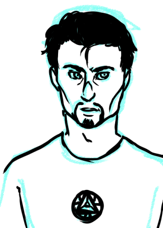 fuck tony, why are you so difficult to draw?