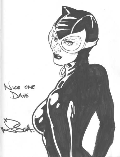 Catwoman by Nicola Scott