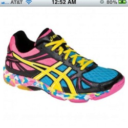 @jameee34 new #volleyball shoes. #asics #love  (Taken with instagram)