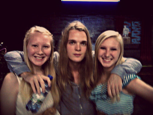 juls108:  Me and my sister also met Trevor Kelly at the concert! He is such a cool guy!