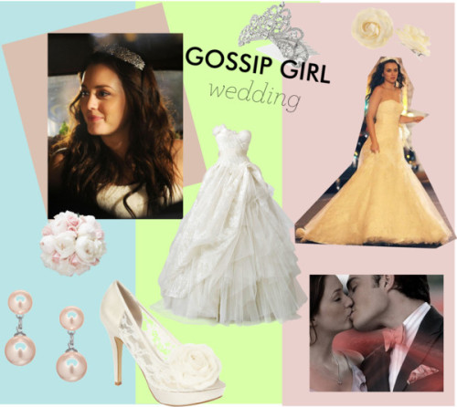 gossip girl wedding by fmunirah05 featuring ivory shoes